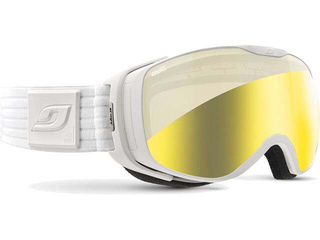 Julbo Luna - Lunettes de protection - Zebra Light blanc/Or